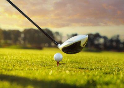 Tee-off golf