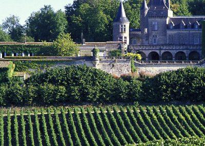 Château La Rivière, Fronsac. Vignoble de Bordeaux, Gironde (33).