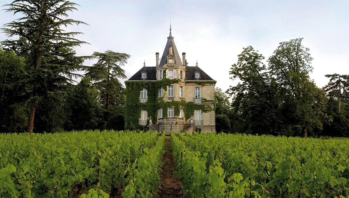 Chateau Les Carmes Haut-Brion in Bordeaux.