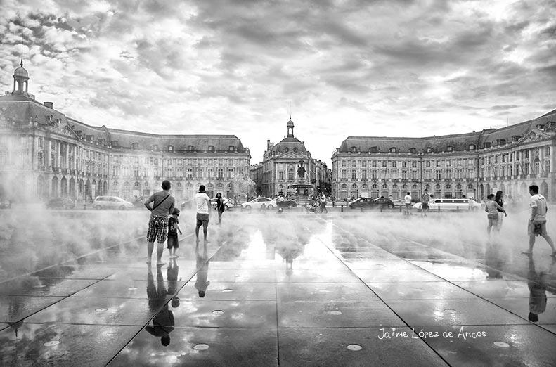 Bordeaux's Miroir d'eau.